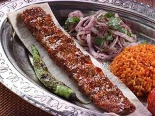 Adana kebab is one of many Turkish specialties
