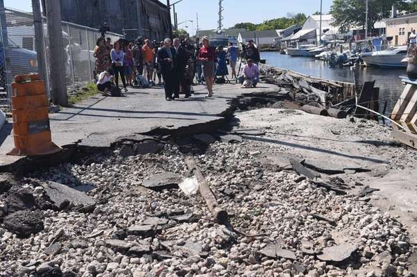 Islip Town officials warned Aug. 18, 2014, that