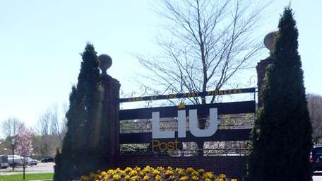 LIU Post in Brookville, seen here on April
