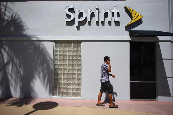 A Sprint cellphone store on Oct. 15, 2012