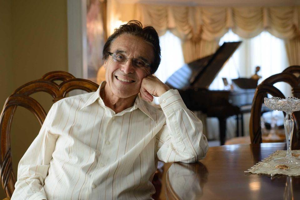 Joe Cirillo, 82, relaxes at his home in