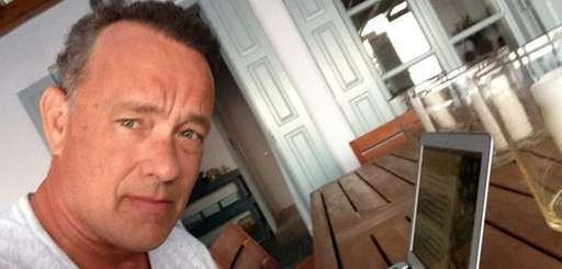 Actor Tom Hanks participates in a Twitter chat