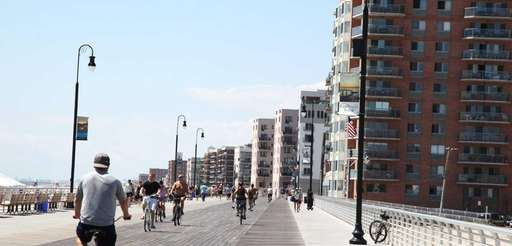 The boardwalk on Tuesday, Aug. 19, 2014 in