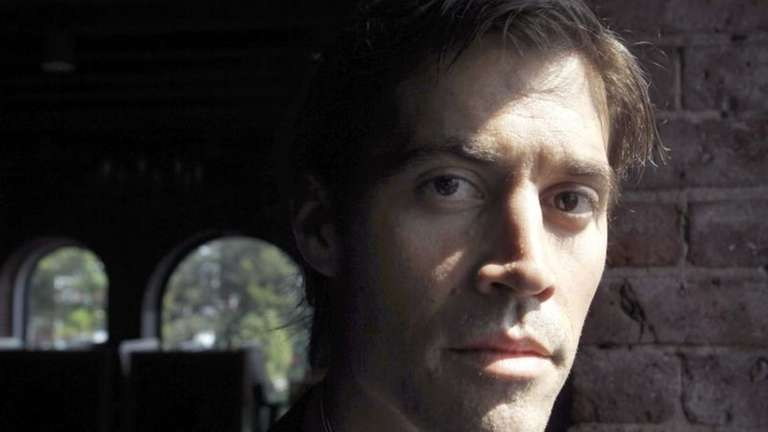 Journalist James Foley during a May 2011 interview