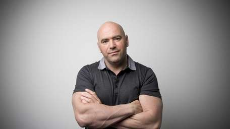 Dana White, president of Ultimate Fighting Championship (UFC),