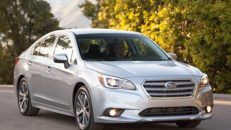 The 2015 Subaru Legacy is an all-wheel drive