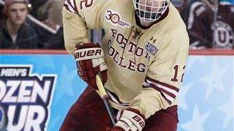 Boston College's Kevin Hayes has signed with the