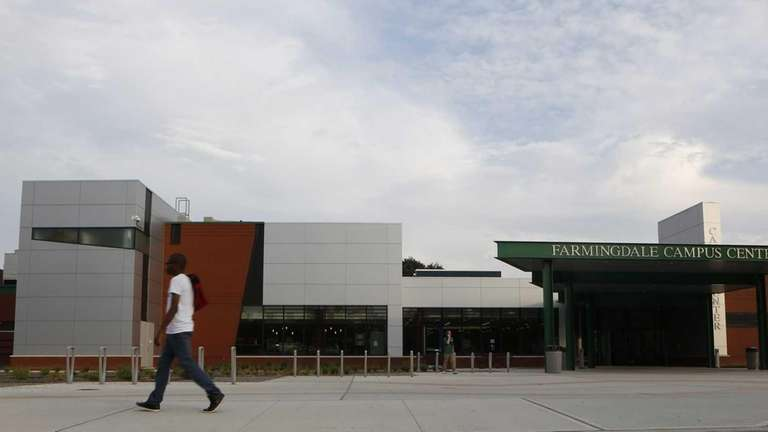 FILE: An exterior view of Farmingdale State College's