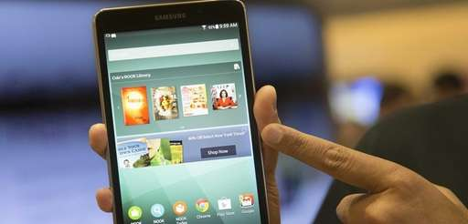 A new Samsung Galaxy Tab 4 Nook is