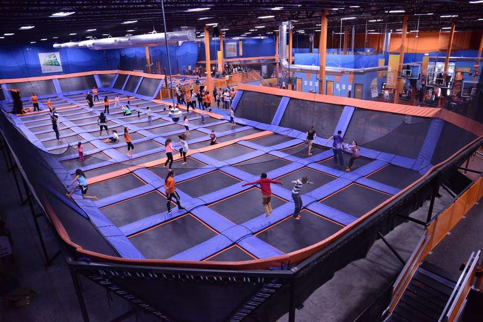 The biggest indoor trampoline park on Long Island,