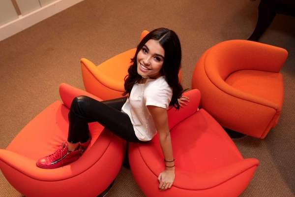 Madison Beer, 15, from Jericho, who got her