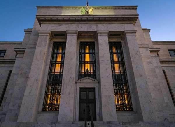 The Federal Reserve headquarters in Washington. Minutes of