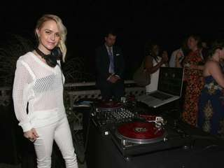 Guest DJ actress Taryn Manning spins Saturday night
