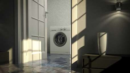 Flood waters inside a home can cause major
