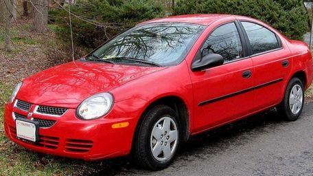 The 2005 Dodge Neon.