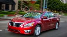 The 2014 Nissan Altima.