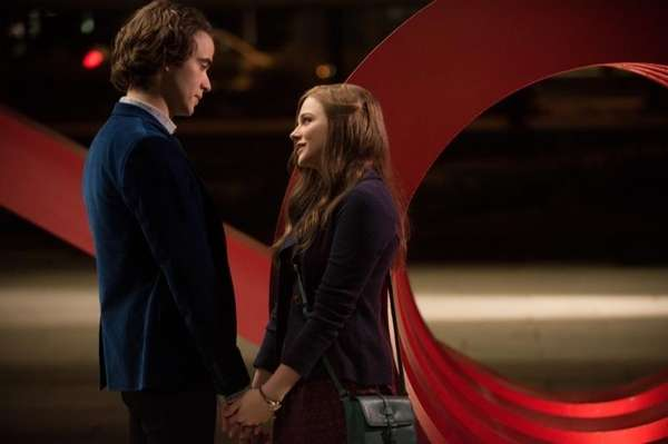 Jamie Blackley, left, and Chloe Grace Moretz star