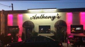 Anthony's Family Style Restaurant serves an Italian menu