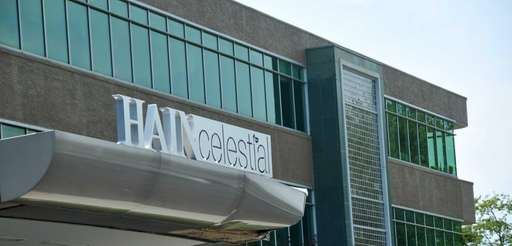 Th exterior of Hain Celestial's offices at 1111