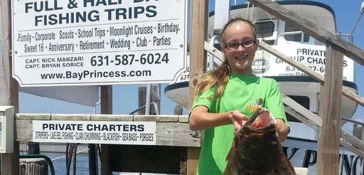 Allison Turbush, 13, was aboard the Bay Princess