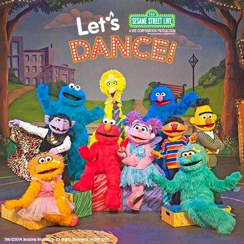 """""""Sesame Street Live: Let's Dance"""" will be at"""