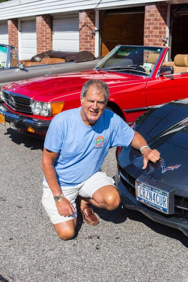 Customized license plates help prostate cancer survivor Sandy