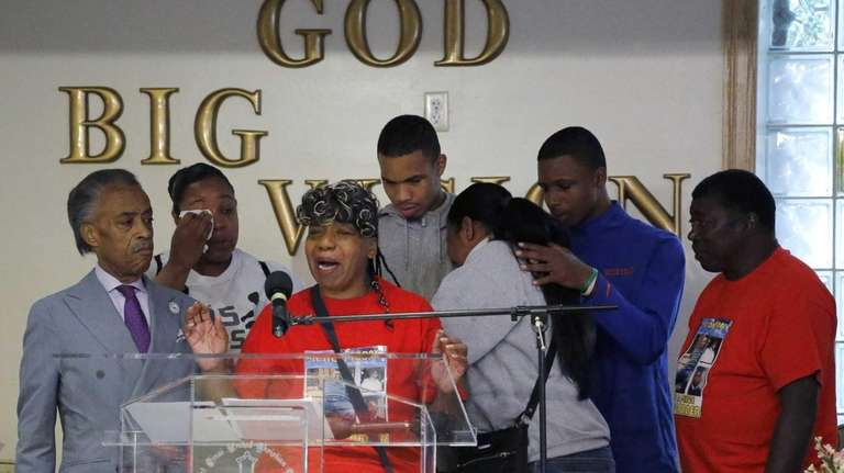 Gwen Carr, the mother of police chokehold victim
