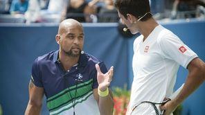 Insanity exercise guru Shaun T gives Novak Djokovic
