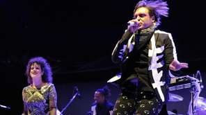 Win Butler, right, and Regine Chassagne of Arcade