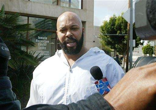 "Rap music mogul Marion ""Suge"" Knight, who police"