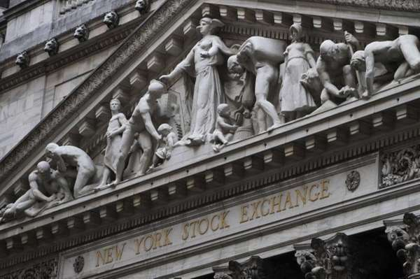 The New York Stock Exchange in New York