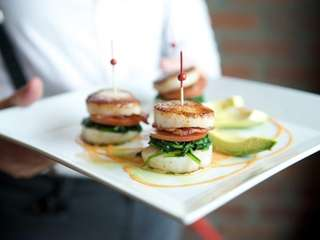The scallop BLT comes highly recommended, serving up