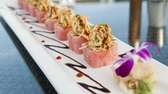 The Oz roll at The Seawater Grill at
