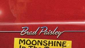 """Moonshine in the Trunk,"" by Brad Paisley. Paisley"