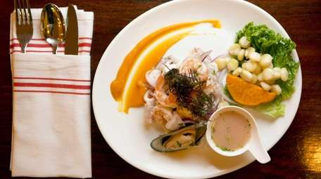 Mixed seafood ceviche is flawless at Manka Peruvian