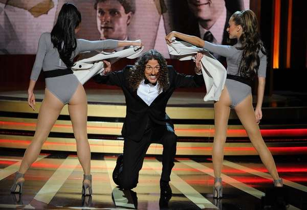 Weird Al Yankovic performs at the 66th Emmy