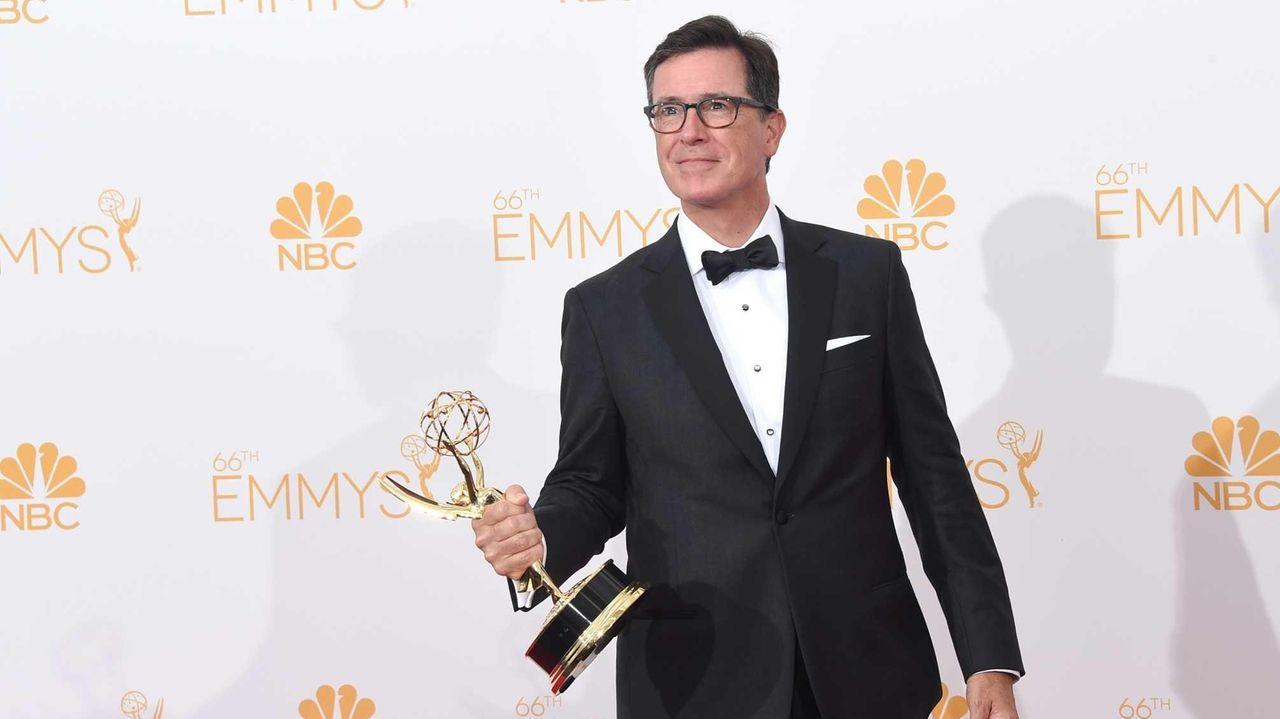 Emmy winner Stephen Colbert announced the date of