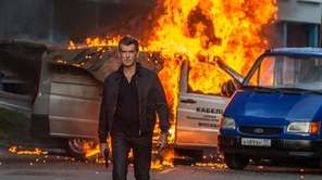 "Pierce Brosnan in ""The November Man."""
