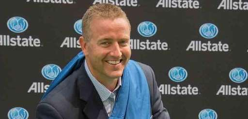 ESPN college football expert Kirk Herbstreit poses in