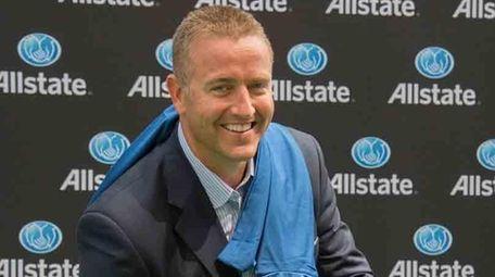 ESPN college football expert Kirk Herbstreit poses in