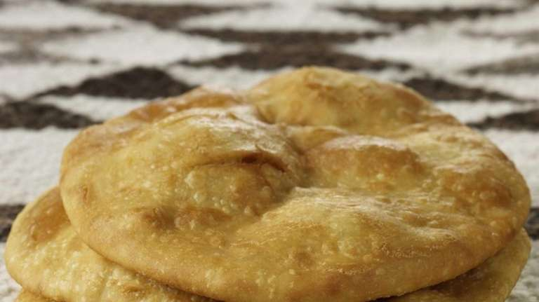 Fry bread is a staple among Indian tribes
