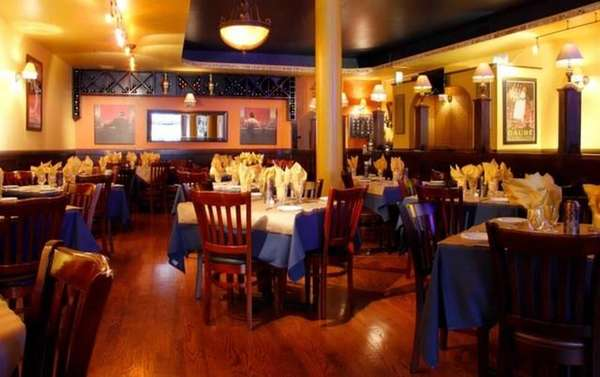 Interior shot of Casablanca in Lynbrook.