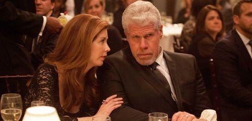 Dana Delany and Ron Perlman in the drama