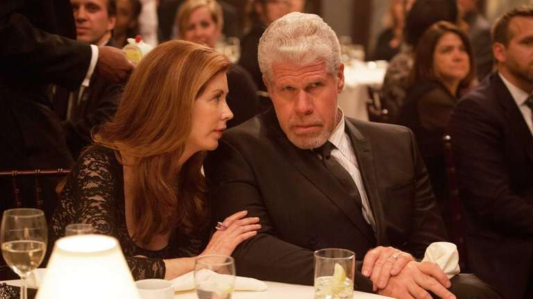 Dana Delany and Ron Perlman in the drama