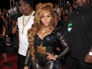 Rapper Lil' Kim (pictured here at the MTV