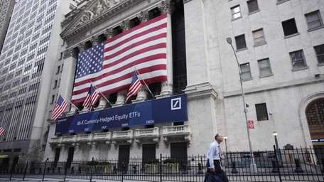 The New York Stock Exchange on Aug. 9,