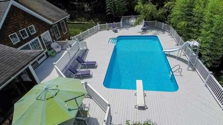 Looking for a home with an outdoor deck?