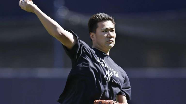 Yankees starting pitcher Masahiro Tanaka, who is on