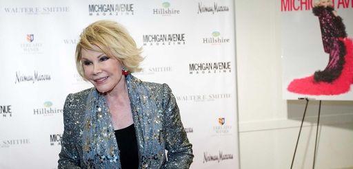 Joan Rivers attends Michigan Avenue magazine's party celebrating
