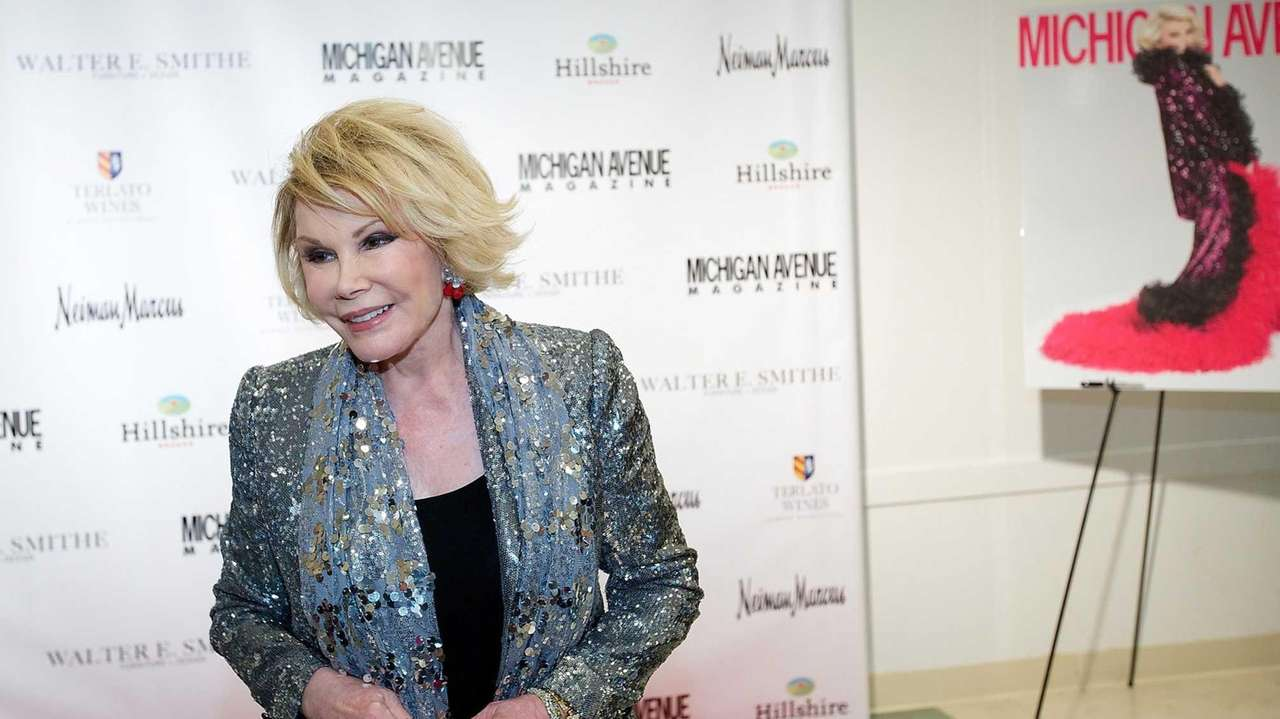 Joan Rivers attends Michigan Avenue magazine's party celebrating